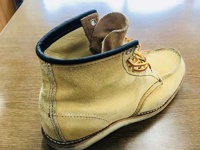 ご質問頂きましたパンツやズボンのスソに付いた靴の色移りは取る事が出来ますか?